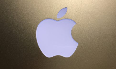 AppleのMacbookairのロゴマーク
