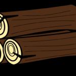 丸太のイラスト