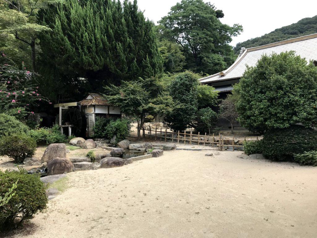 吉備津神社の弓道場