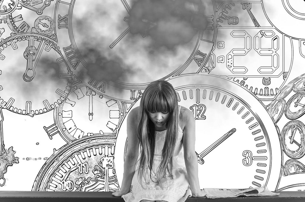 時間の概念のイラスト