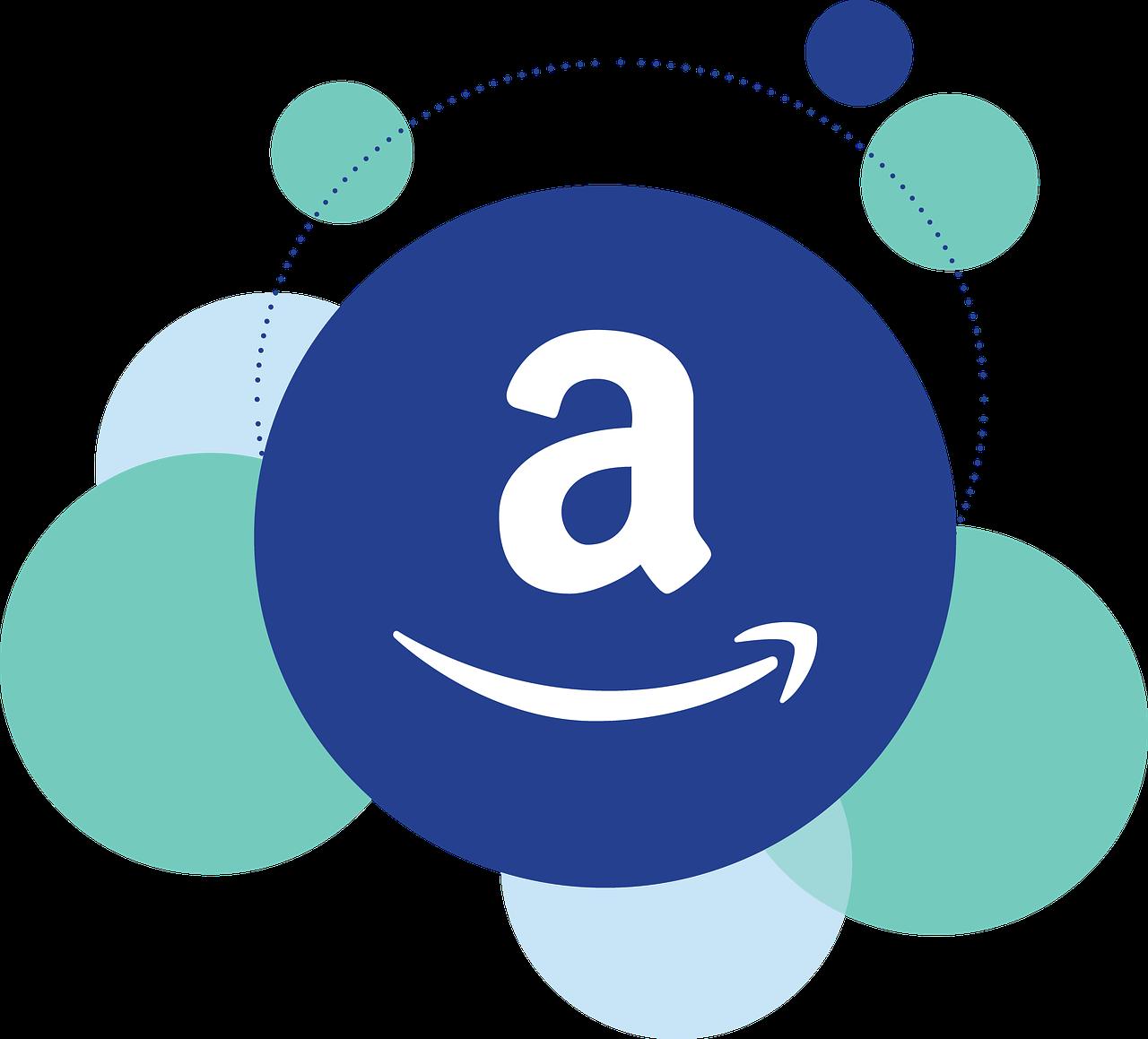 アマゾンのロゴのイラスト