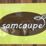 samcoupeのお店の看板
