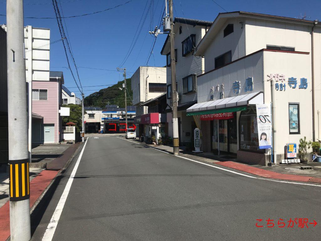 samcoupeのお店の位置を示す写真