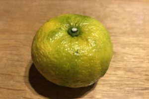柚子の果実