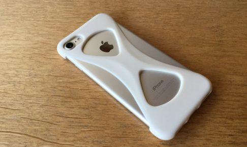 スマホケースの【Palmo】を装着したiPhone7