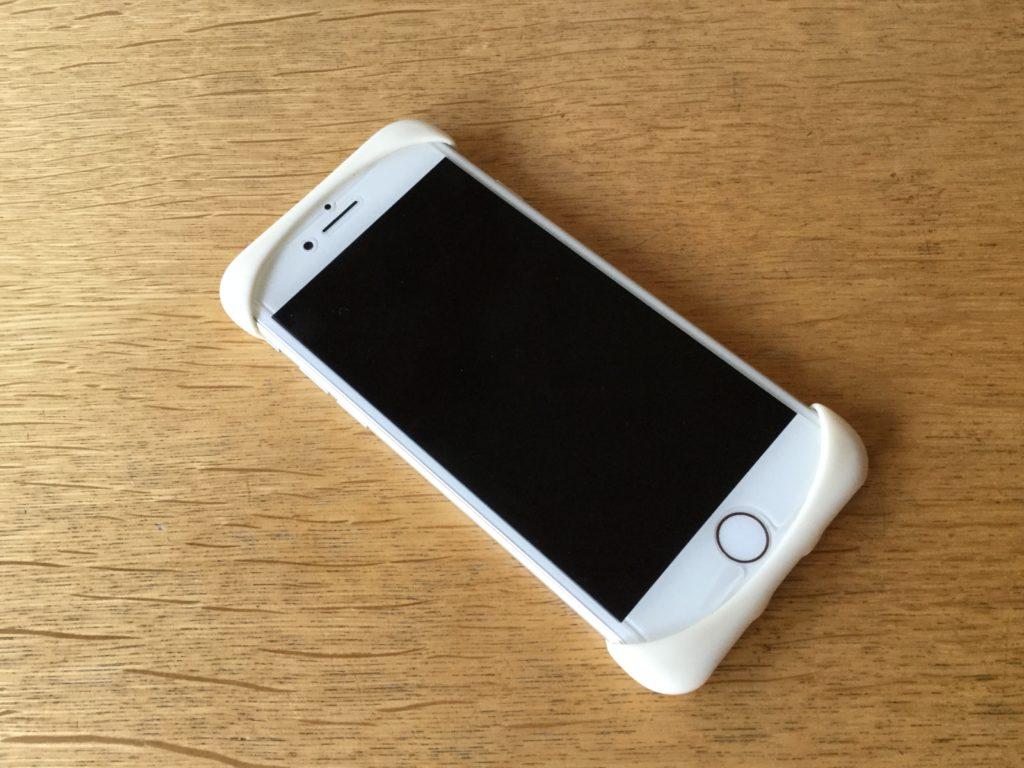 スマホケースの【Palmo】を装着したiPhone7の画面側