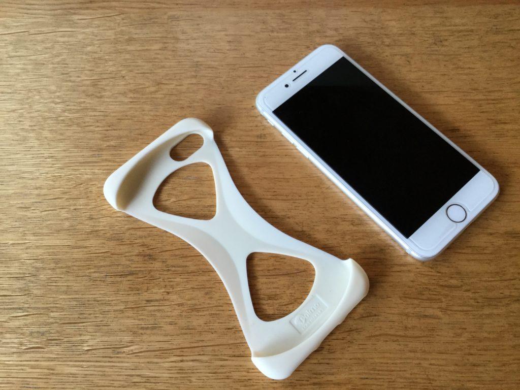 iPhone7とスマホケースの【Palmo】
