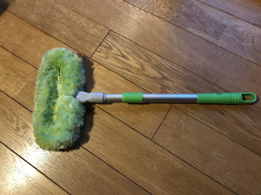 網戸掃除用のブラシ