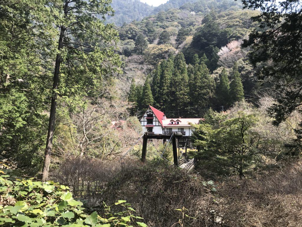 森の中に佇む【森の国ホテル】