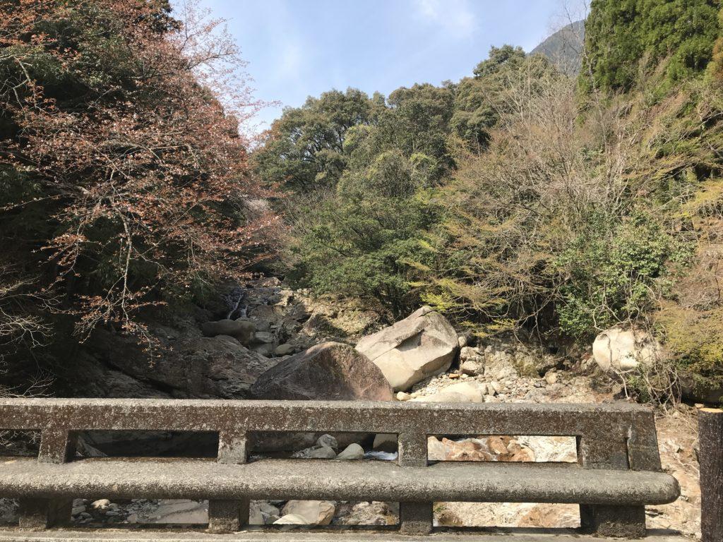 【万年橋】から上流へ向けての眺め