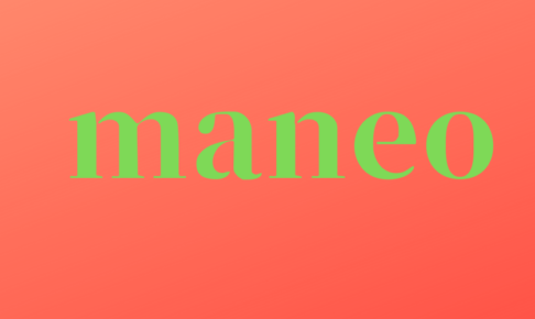maneoの文字