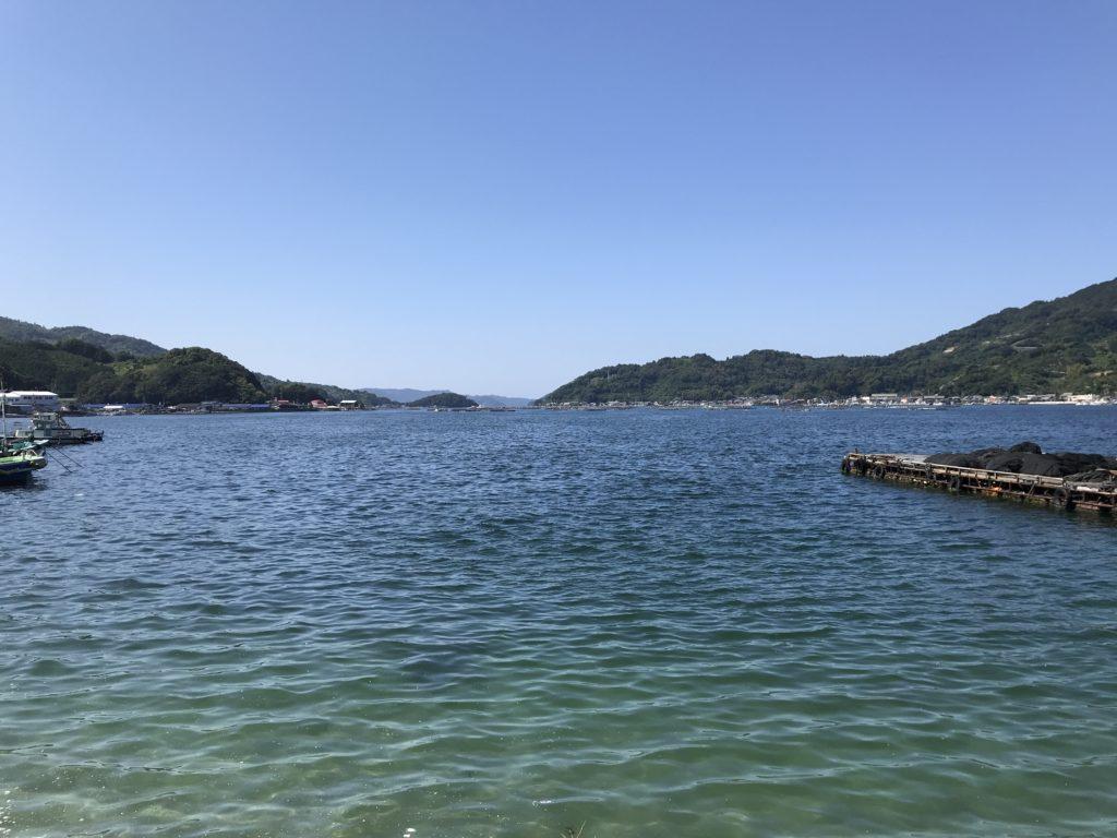 【九島】周辺の海