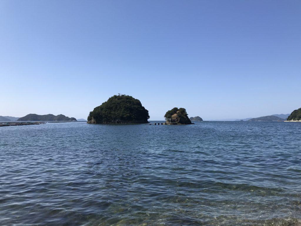【九島】から見える離れ小島