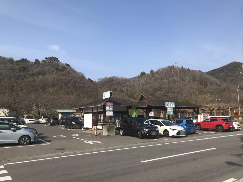 大山祇神社周辺の町営駐車場