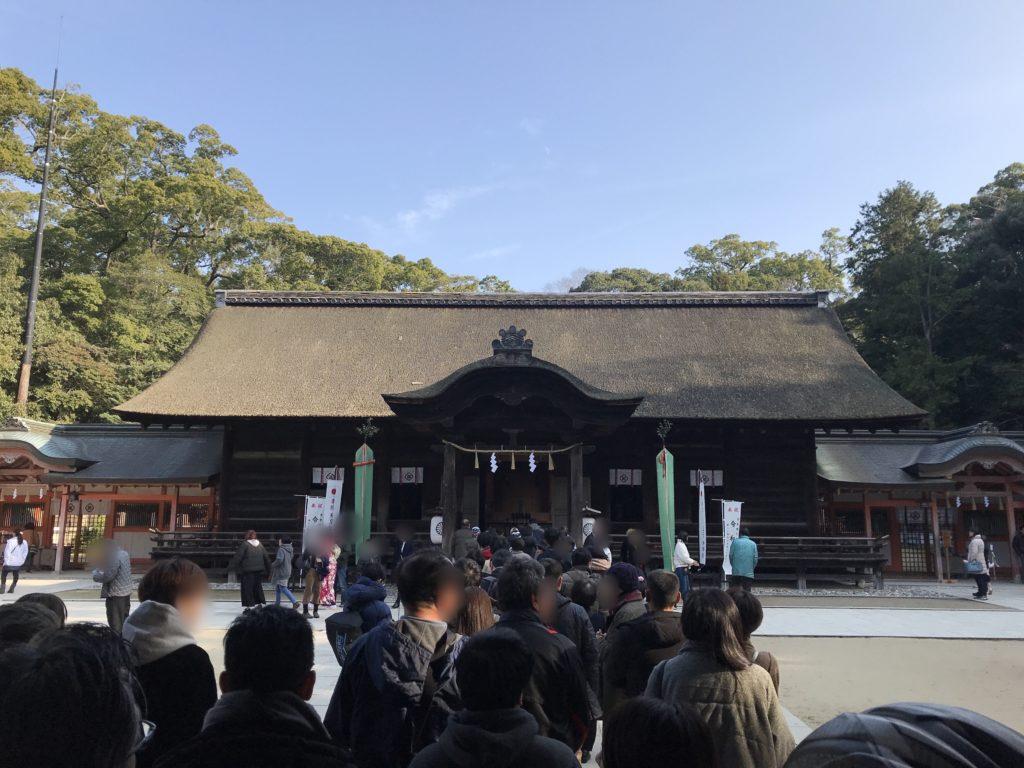 大山祇神社の本殿