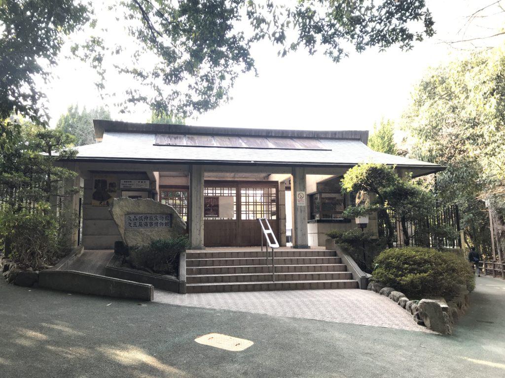 大山祇神社の宝物館入り口