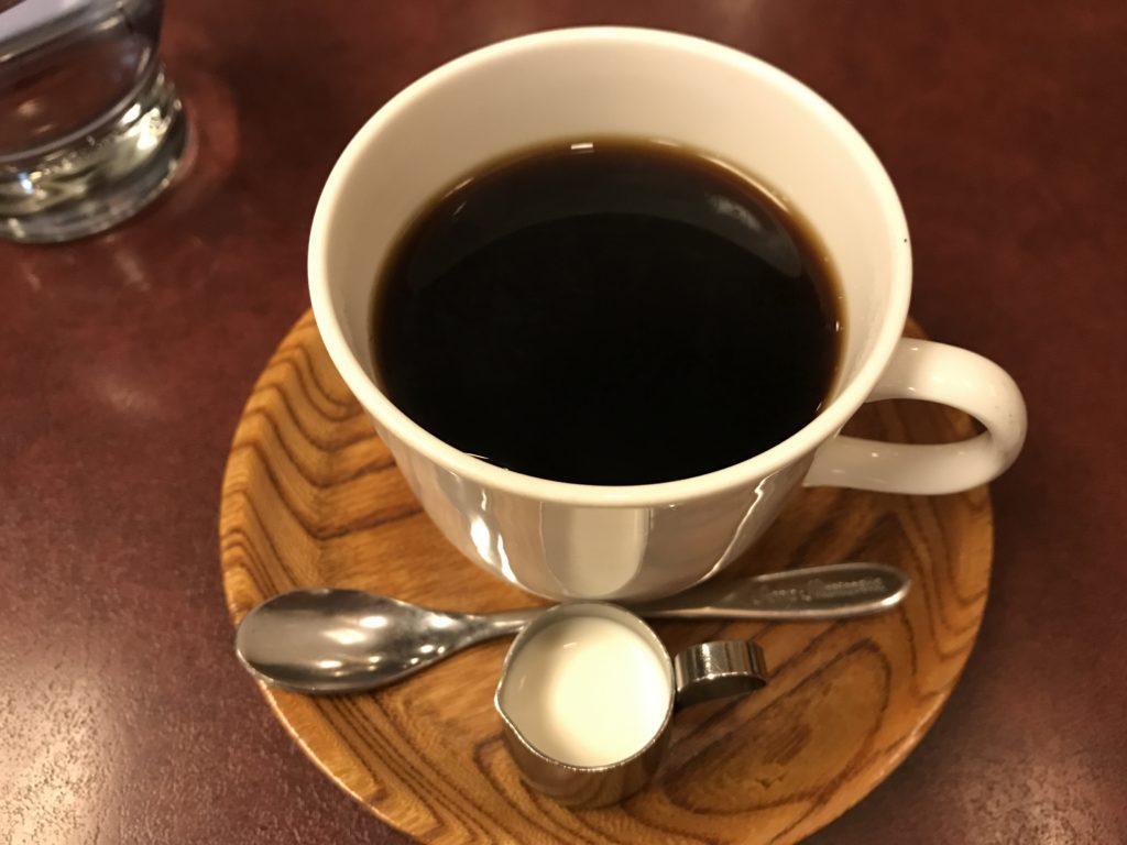 喫茶店【城下町】のブレンドコーヒー