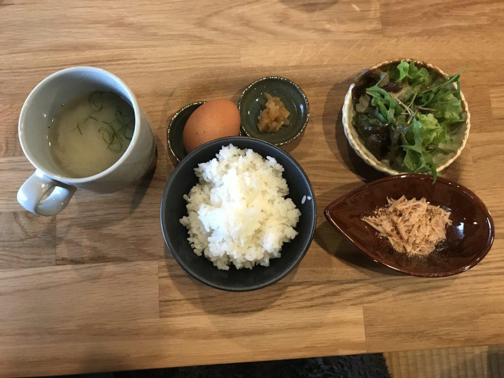 『nicco』の【薫製醤油の卵かけごはん】